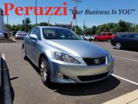 CARFAX One-Owner. Blue 2007 Lexus IS 250 AWD 6-Speed