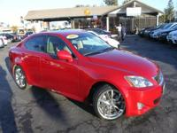 Options:  2007 Lexus Is 350 Base 4Dr