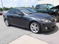 2007 Lexus IS 350, Gray, **NON SMOKER**, **LOCAL