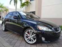 2007 Lexus IS250 Premium Package-- LOW, LOW Priced!!