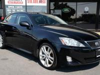 2007 Lexus IS350! WE FINANCE - 98k miles, Navigation!