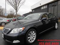 Action into the 2007 Lexus LS 460! An excellent