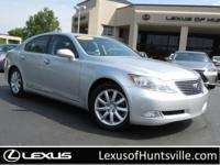 2007 Lexus LS460 with Navigation, Leather, Moon roof,