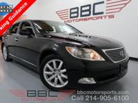 LS 460. 4.6L V8. Navigation. Sunroof. Heated & Cooled