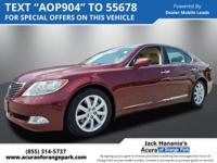 Used 2007 Lexus LS 460 Non - Smoker, Local Owned, **
