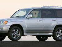 2007 Black Lexus LX470 Denver/Aurora. EXTRA CLEAN! This