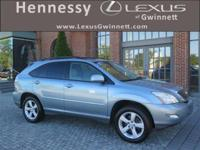 2007 Lexus RX 350 in Blue, Gray Cloth. L/Certified by