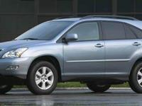 Boasts 24 Highway MPG and 19 City MPG! This LEXUS RX