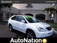 2007 Lexus RX 400h Our Location is: Lexus Of Tampa Bay