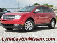 (Stk# 7-5217A) 2007 Lincoln MKX: style, comfort and the