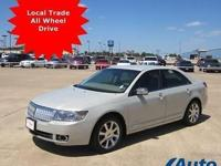 *** LOCAL TRADE, ALL WHEEL DRIVE SPORTY SEDAN with A