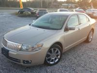 Options:  2007 Lincoln Mkz |Gold|Dual Zone Air