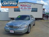 THE 2007 LINCOLN TOWN CAR SIGNATURE LIMITED! THIS IS A