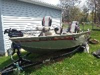 CAN'T BEAT THIS DEAL!! - Lowe Fishing Machine 165 2007