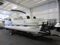 2007 LOWE SUNCRUISER 214 BIMINI ANGLER PONTOON WITH