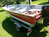 2007 LUND BOAT IN EXCELLENT CONDITION. HAS BEEN USED A