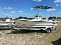 For sale is an excellent condition 2007 Mako center