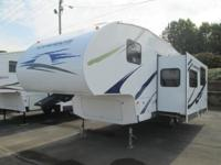 ** 2007 Mallard by Fleetwood. This camper is 34 feet