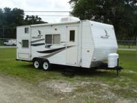 200 Mallard CK 18 22' travel trailer is like brand new.