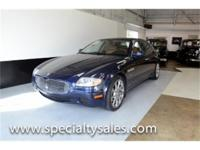 This 2007 Maserati Quattroporte (Stock # 30650) is