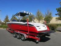 This boat has twin Inmar 6.0 lt V8 motors with 108