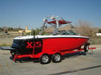 2007 MasterCraft X-15,**One owner and in mint