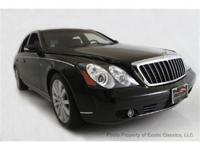 This 2007 Maybach 57S is loaded with amenities, such as