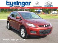 Copper Red CX-7, Check out the Clean CarFax! Equipped