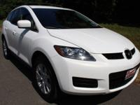 Crystal White Pearl Mica 2007 Mazda CX-7 Sport AWD