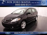 CHECK OUT THIS SUPER SPACIOUS 4-dr 2007 MAZDA-5 STATION