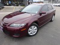 Options:  2007 Mazda Mazda6 S|Carfax One-Owner. 3.0L