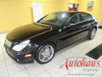 This CLS550 has the optional AMG sport package,