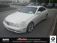 This 2007 Mercedes-Benz CLS CLS 550 in Arctic White