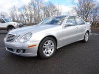 Wow! This 2-owner, 2007 Mercedes-Benz E320 Bluetec is