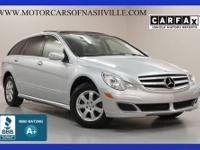 This 2007 Mercedes-Benz R-Class 4dr R350 4MATIC 4dr