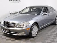 A BEAUTIFUL AND RARE LOW MILE, 1 OWNER 2007 S550 SEDAN.