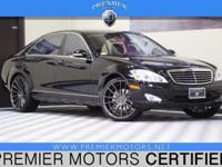 Options:  2007 Mercedes S550 Black 5.5L V8 Automatic