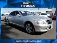 *Low Miles* *This 2007 Mercedes-Benz S-Class 5.5L V8*