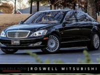 CLEAN CARFAX! FEATURE INTENSIVE S600 RWD