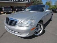 2007 Mercedes-Benz S550 V8 RWD. Branded Title. NEW