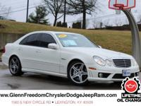 **Lifetime Oil Changes** E-Class E 63 AMG, 6.2L V8