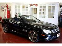 FABULOUS TRIPLE BLACK MERCEDES SL First seen in the