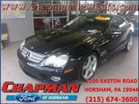 2007 Mercedes-Benz SL-Class SL550 Cabriolet. Leather.
