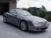 2007 Mercedes SL550 pewter with black interior. Car has