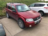 Red 2007 Mercury Mariner Luxury FWD 4-Speed Automatic