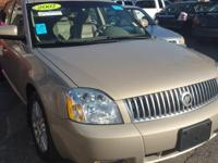 2007 MERCURY MONTEGO V6 SEDAN 4D PREMIER AWD AUTOMATIC
