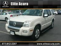 Elite Acura presents this 2007 MERCURY MOUNTAINEER AWD