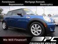 Check out this 2007 MINI Cooper. It has a 1.60 liter 4