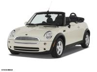 Options:  2007 Mini Cooper 2Dr|4 Cylinder