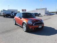 Come see this 2007 MINI Cooper Hardtop S. It has a